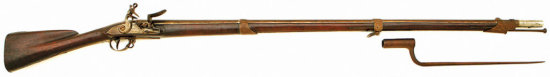 Composite French New Model 1763 Heavy Flintlock Musket