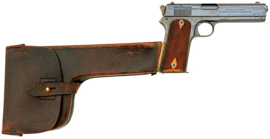 Fine Colt Model 1905 Pistol With Extremely Rare Combination Holster Shoulder Stock
