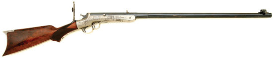 Frank Wesson No. 2 Deluxe Sporting & Gallery Rifle