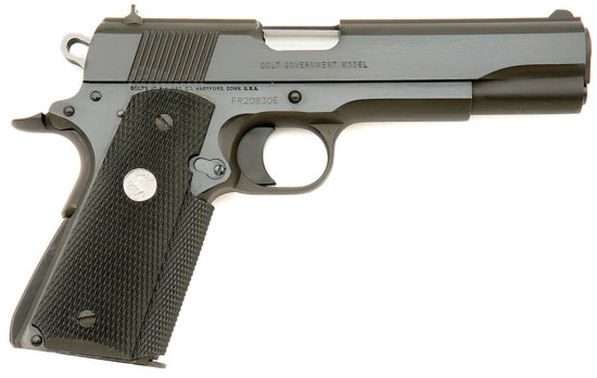 Rare Colt Government Model Semi-Auto Pistol