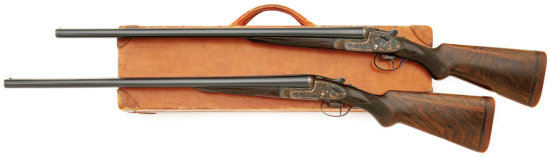 Pair Of Aya No. 1 Consecutively Numbered Sidelock Shotguns