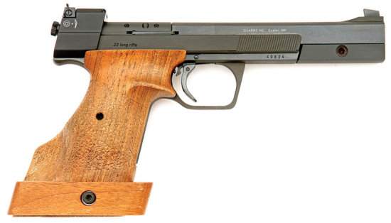 Hammerli International Model 208S Semi-Auto Pistol