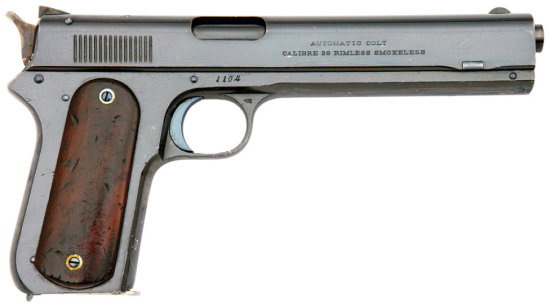 Superb Colt Model 1900 U.S. Navy Contract Semi Auto Pistol