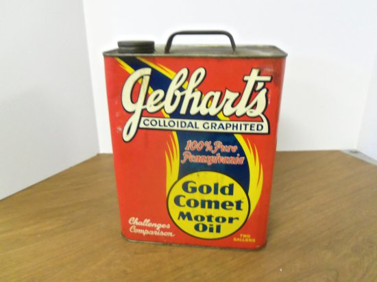 GEPHARTS GOLD COMET OIL CAN