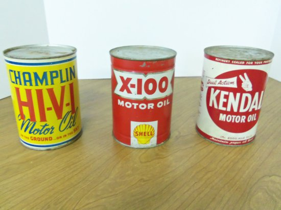 QUART OIL CANS