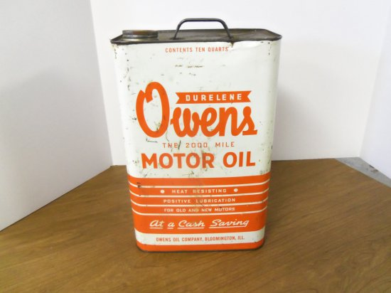 OWENS MOTOR  OIL CAN