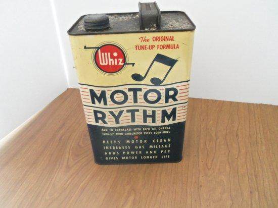 WHIZ MOTOR RYTHM OIL CAN