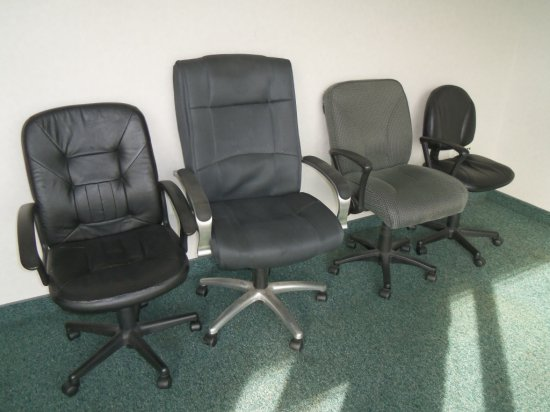 (4) Office Desk Chairs