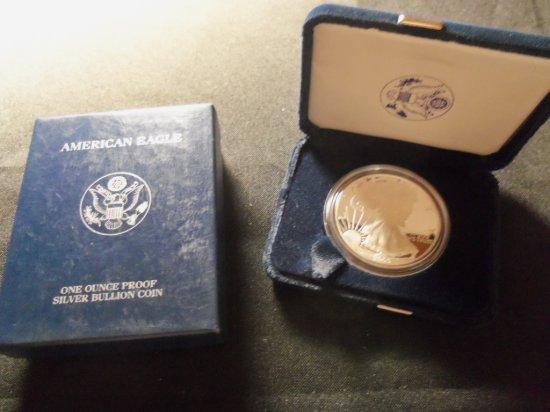 2005 Silver American Eagle coin
