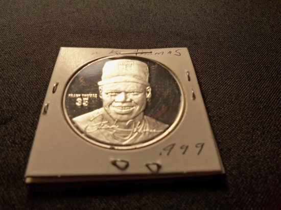 """Frank Thomas "" Commemorative Medalion"