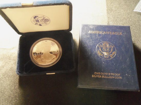 2001 Silver American Eagle coin