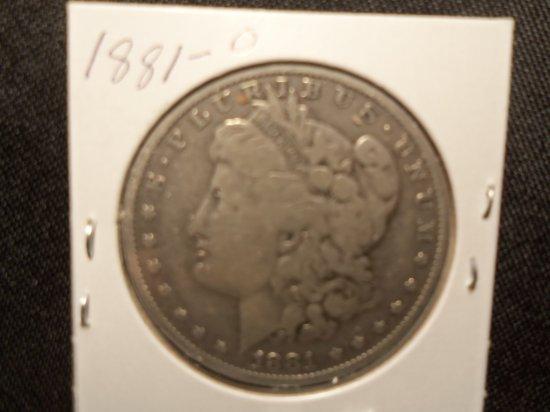 1881 -O Morgan Dollar