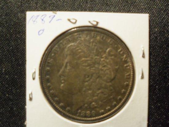 1889 -O Morgan Dollar