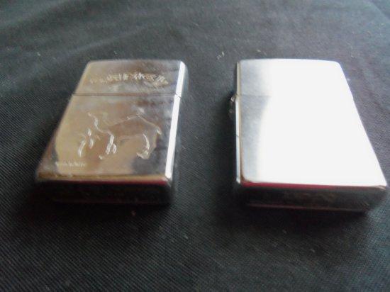 "Pair of Vintage ""ZIPPO"" Lighters"
