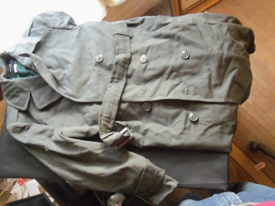 """VINTAGE """"MILITARY STYLE """" TRENCH COAT"""