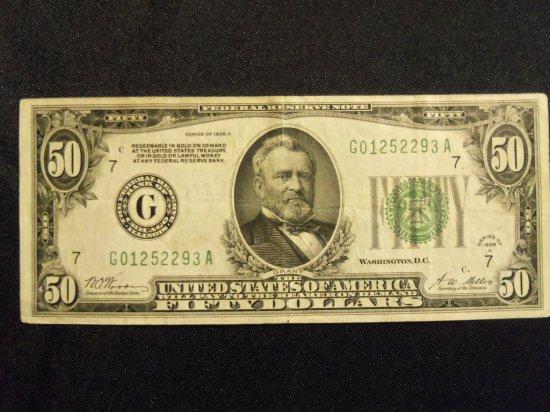 1928A   $50  BILL