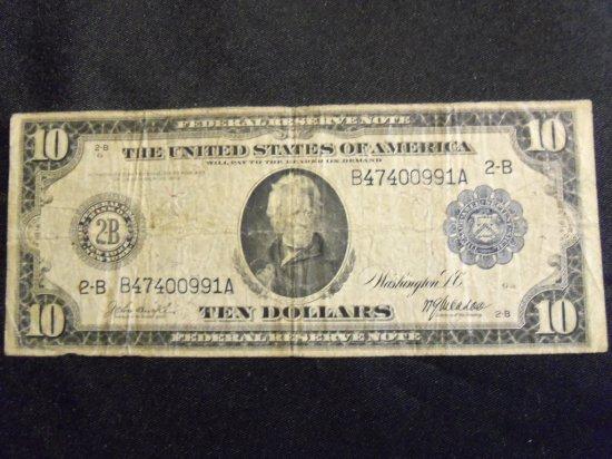 1914     $10   BILL
