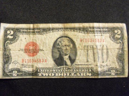 1928C   $2  BILL