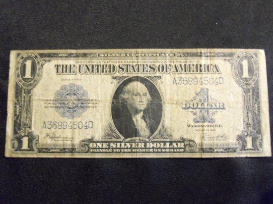 1923  $1  BILL