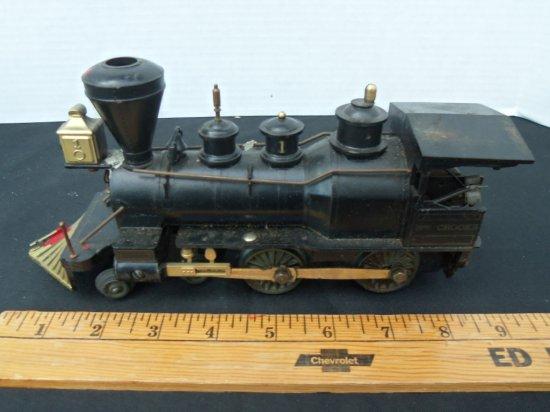 """C.W.CROOKS "" Model railroad Locomotive"
