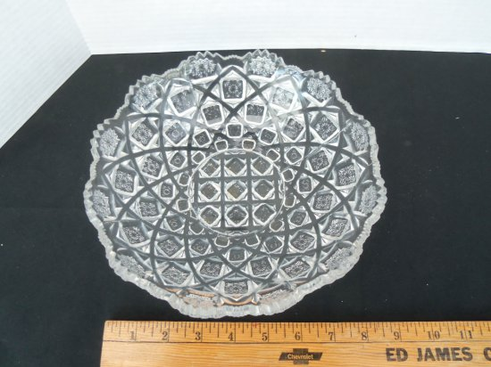 """""""Basket Weave """" Candy  Dish"""