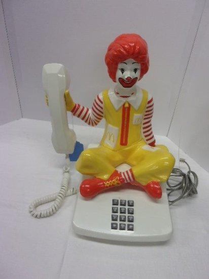 """""""RONALD McDONALD """" PUSH BUTTON  PHONE"""
