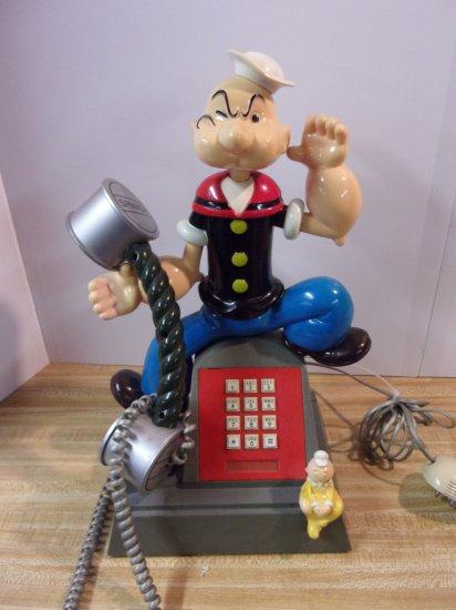 """POPEYE "" PUSH BUTTON PHONE"