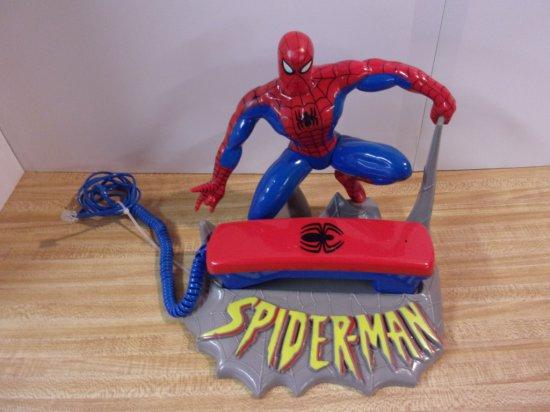 """CROUCHING """"SPIDERMAN """" PHONE"""