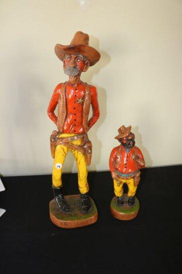 """The Sheriff & Deputy ""FIGURINES"
