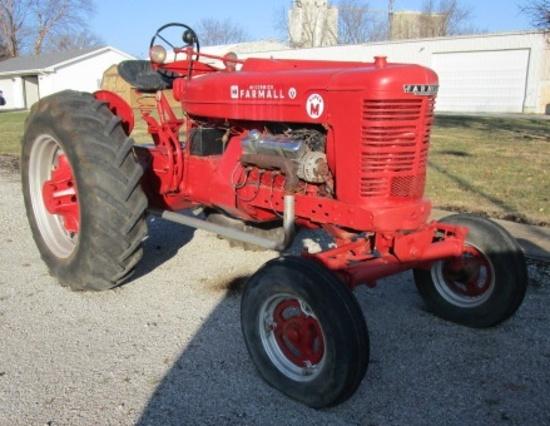 Farmall Super M Tractor W/ Chrysler 383 Engine