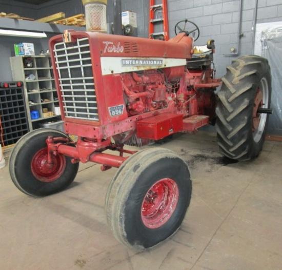 International 856 Diesel Tractor