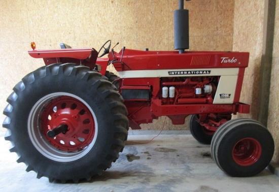 International 1566 Diesel Tractor