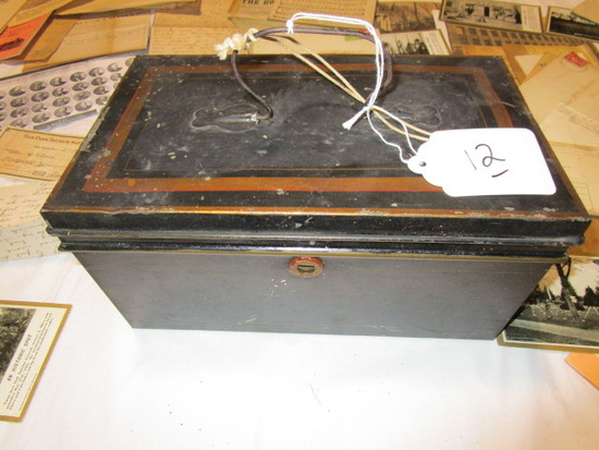 Metal Box and Historical Documents