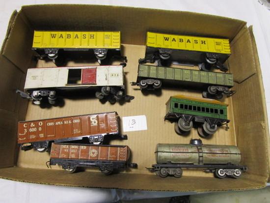 8 Train Cars