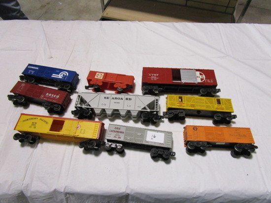 10 Train Cars