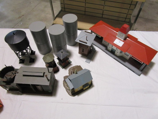 Buildings and Tanks