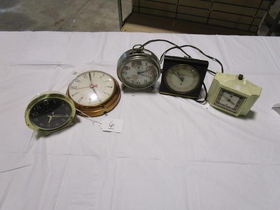 5 Clocks