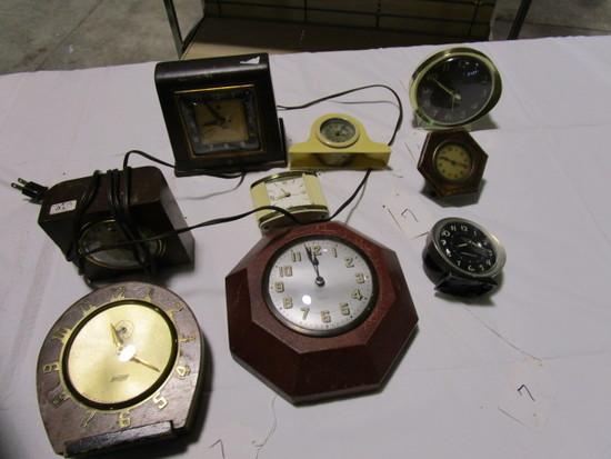 9 Clocks