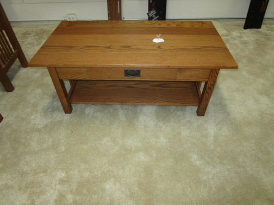 Mission Oak Coffee Table 45""