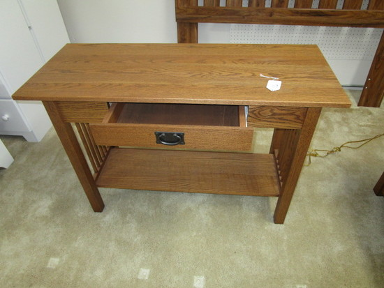 Mission Oak Sofa Table 45""