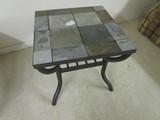 Slate Side Table