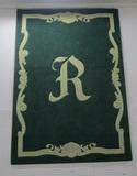 5'x7' Monogrammed Rug