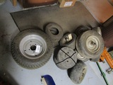 Group of Lawn and Garden Tires Only, Wheel Weights are not included