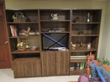 Entertainment Center and Contents, TV NOT INCLUDED
