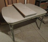 Chrome Leg Table