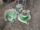 3 Lawn Boy Push Mowers Condition Unknown