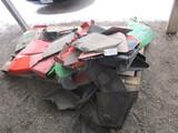 Pallet of Mower Shields