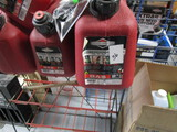 Gas Cans and Rack