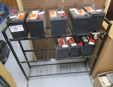 Battery Rack, No Product, Rack Only.