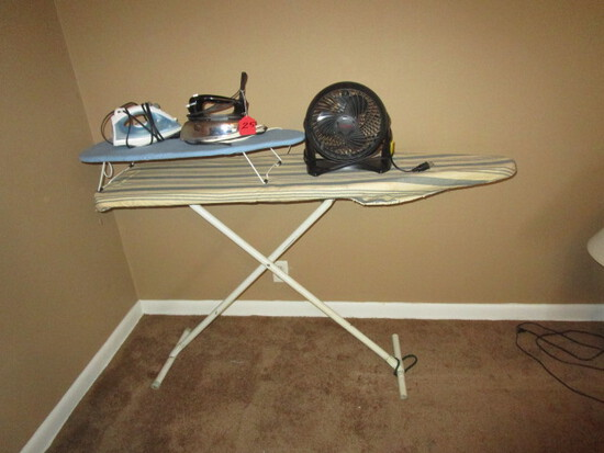 IRONING BOARD AND ACCESSORIES